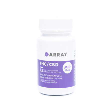 Array Bioceuticals CBD/THC Capsules