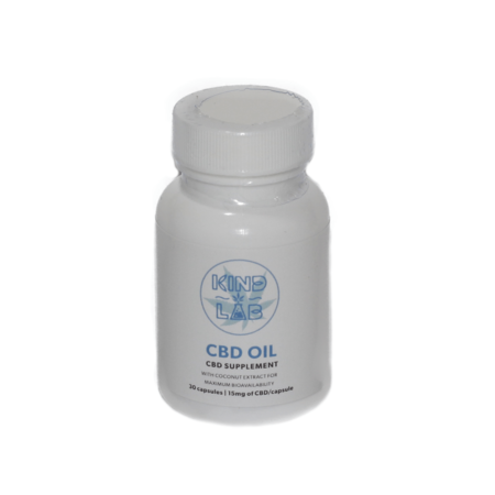 Kind Lab – CBD Capsules