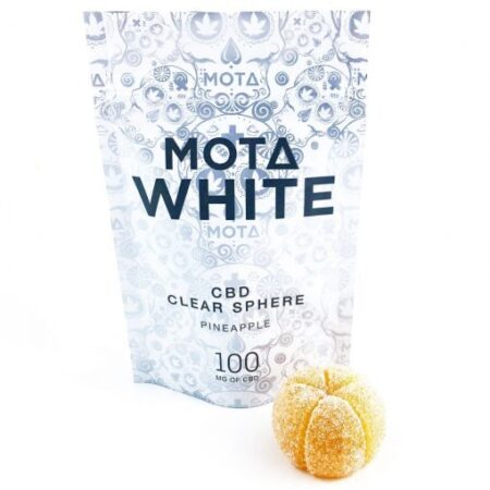 Mota – Clear Sphere White CBD